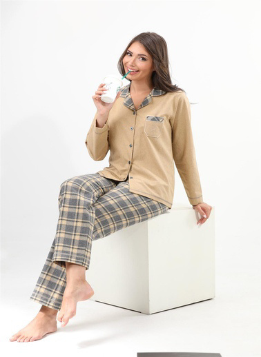 Etoile Pijama Takım Sarı